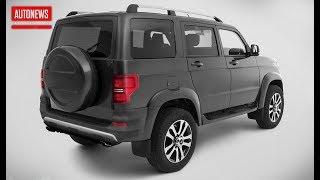 УАЗ Патриот (2020): турбомотор и светодиодная оптика