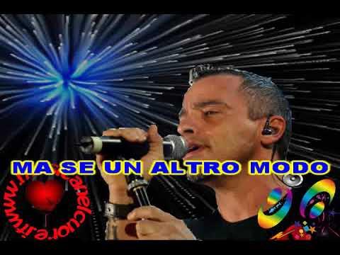 Eros Ramazzotti - Amore contro - karaoke