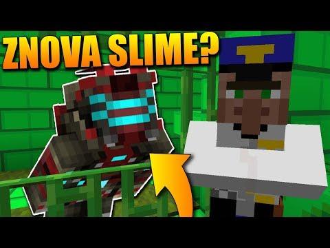 UTÍKÁM Z NOVÉ ŠÍLENÉ SLIZOVÉ VĚZNICE v Minecraftu!