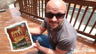 How to Stain a Deck | Olympic Elite Deck Stain Review