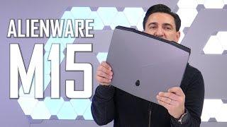 ALIENWARE M15 - Un laptop adevărat de gaming? [UNBOXING & REVIEW]