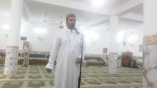 ضياء يونس حميد القيسي. في مسجد أحمد نعوش.