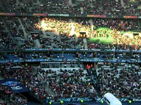 Ouverture de la Finale de la coupe de France 2010 - 2011