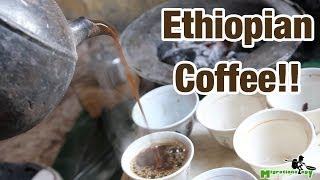 preview picture of video 'Drinking Ethiopian Coffee in Addis Ababa'