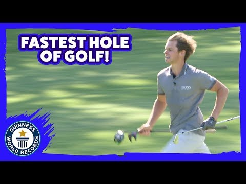 Golf World Record for Fastest Hole