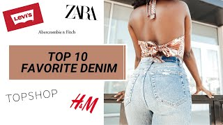 High Waist Jeans Try On Haul | Denim Collection 2020