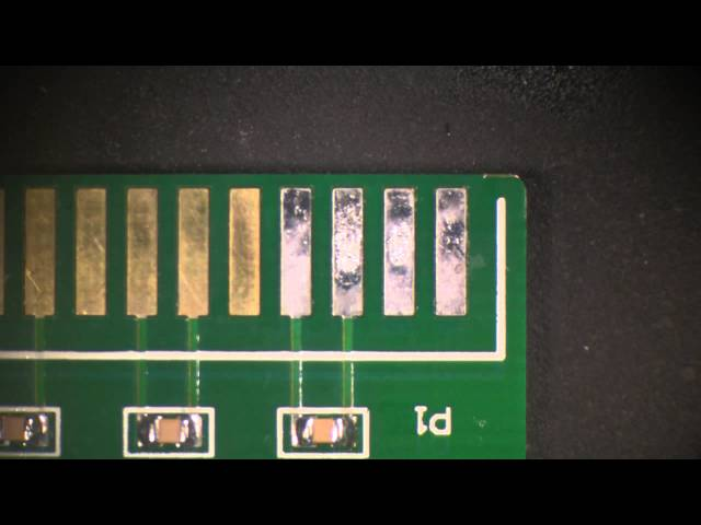 How To Re-plate and Repair PCB Gold Fingers