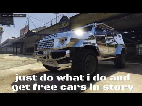 Gta 5 Story Mode How To Get Every Car For FREE (ps4,ps3,xbox One And Xbox 360)