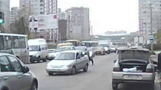 Car crash with pedestrian 4 / car crash compilation