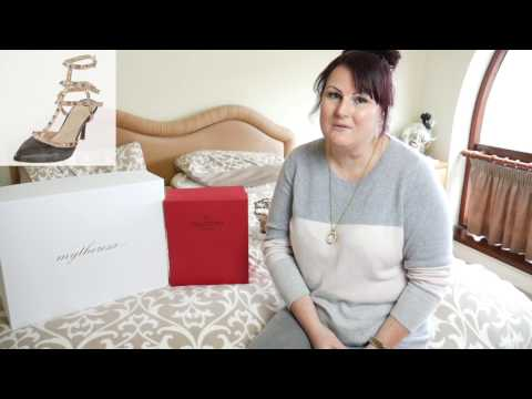 Valentino Rockstud shoe unboxing and review | Ceri's Closet