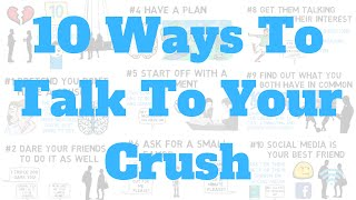 How To Talk To Your Crush, Instantly!