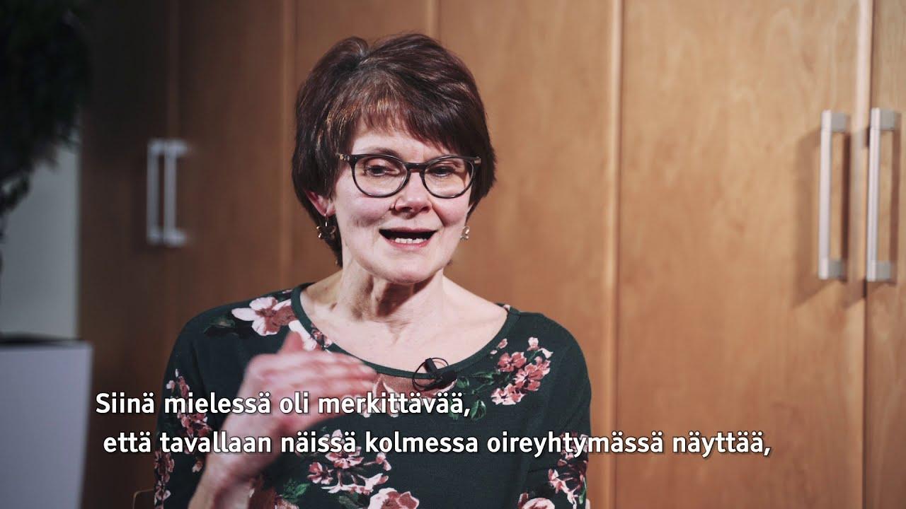PsL Oili Sauna-aho: Ikääntyminen näkyy kehitysvammaisilla eri tavalla eri oireyhtymissä.