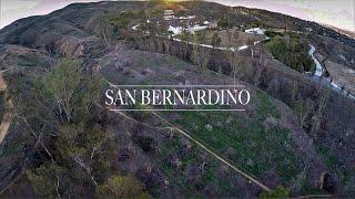 San Bernardino Drone Flying