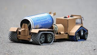 How to make a truck - Concrete Mixer truck at home