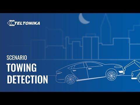 Teltonika Towing Detection Scenario
