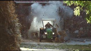 ET DIRE QUE L'ON CROYAIT QUE LES AGRICULTEURS S'EMBÊTAIENT AU VOLANT DE LEUR TRACTEUR!