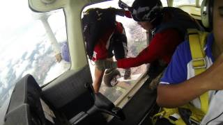 preview picture of video 'Static Line Skydive Segamat, Johor, Malaysia'