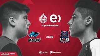 Hafnet Esports VS Azules Esports | Jornada 13 | Liga de Honor Entel