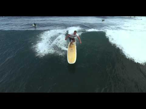 "SPORTS: Epic Wave Surfing ""Leo Carrillo"" in Malibu, CA – Drone: DJI Inspire 1"