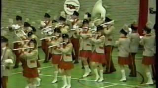 ViJoS Showband Kampioens wedstrijden 1990 F.K.M Breda