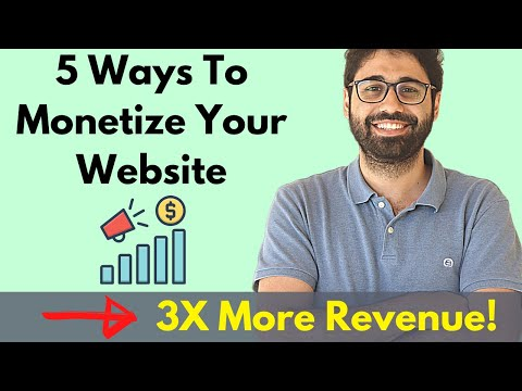 5 New Ways To Make Money Online With Your Website ( Triple Your Income! )