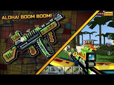 Pixel Gun 3D - ALOHA! BOOM BOOM! [Review]