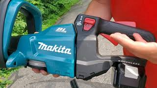 Makita 18-Volt LXT Lithium-Ion Brushless Cordless 24 in. Hedge Trimmer (XHU07Z)