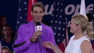 """Rafael Nadal: """"It's been one of the most emotional nights in my career"""" 