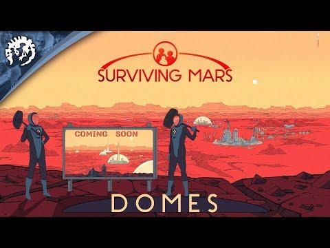 "Surviving Mars - Domes, ""Living on Mars"" thumbnail"
