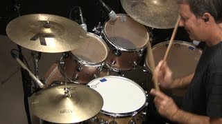 Drumset Lessons with John X: Simple Solid Drum Fills