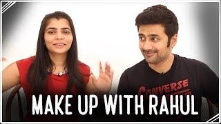 Rahul does my makeup!!  | Make-Uppies