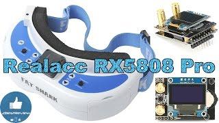 ✔ Приемник Realacc RX5808 Pro для Очков Fatshark. Banggood