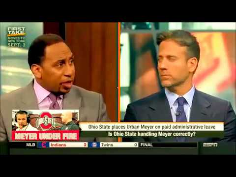 First Take on Ohio State DESTROYS Urban Meyer correctly! First Take