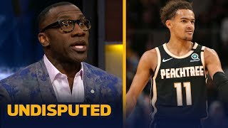 Shannon Sharpe reacts to Trae Young dropping 50 in win over Miami | NBA | UNDISPUTED