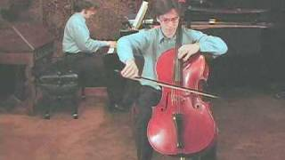 The Rice Brothers play the Dvořák Cello Cto, 1st mvt, Part 1