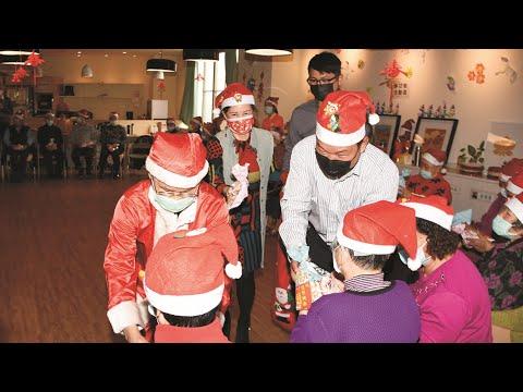 109年12月24日「日照中心歡慶聖誕節☺鄉長送歡樂」