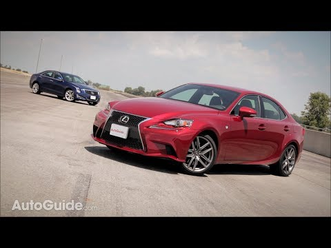 2014 Lexus IS350 F-Sport vs. 2013 Cadillac ATS 2.0T