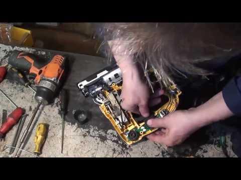 Предпродажный ремонт DeWalt эл  лобзик