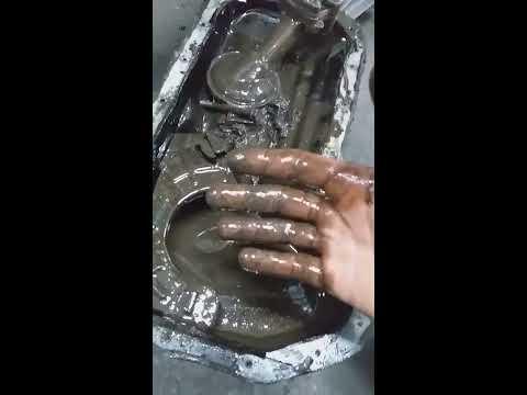 Chevrolet НИВА,леденая шуга в двс,горит давление масла,демонтаж картера двс, замена масло насоса....