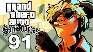 Grand Theft Auto San Andreas Gameplay / SSoHThrough Part 91 - This Game Hates Me