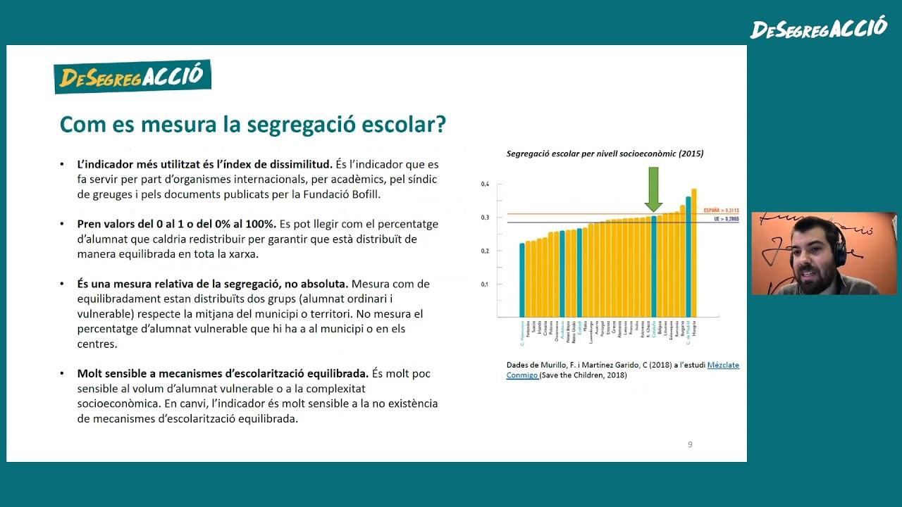Segregació escolar: quin és el problema i quines polítiques municipals funcionen-Joan Cuevas