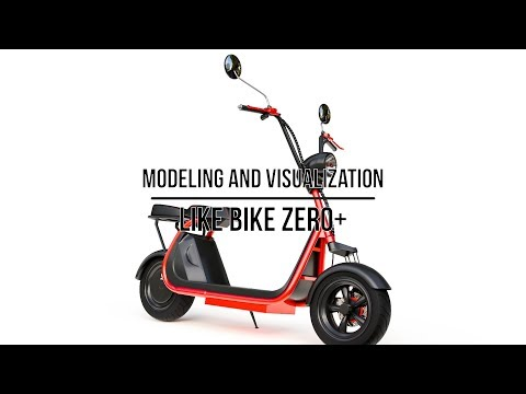Electric scooter Like Bike ZERO