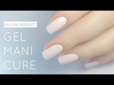 How to get perfect gel nails at home