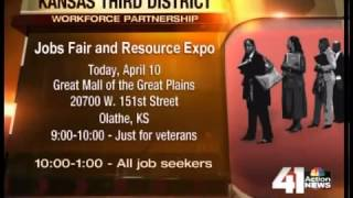 Kan. Rep Hosts Job Fair At Olathe Mall