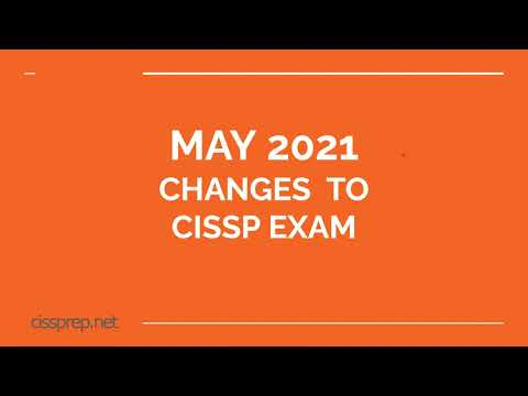 Changes That are Coming to the CISSP Exam in May 2021 ...