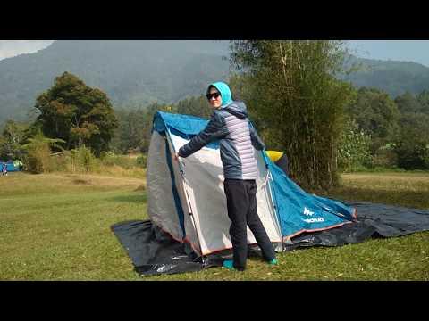 da554cf56 Le test de  Tente de camping familiale ARPENAZ 4.1