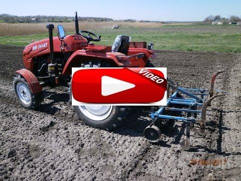 подготовка почвы под посев прополка