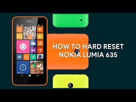 How To Hard Reset Nokia 635 - [romshillzz]