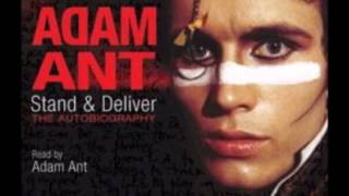 Adam Ant  - Stand & Deliver audio 3