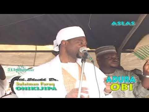 Download Sulaimon Faruq Onikijipa - Adura Obi HD Mp4 3GP Video and MP3
